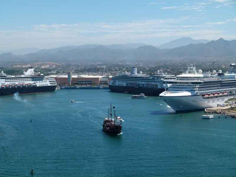 Hoy triple arribo de cruceros dejará una  derrama económica de más de 12 mdp