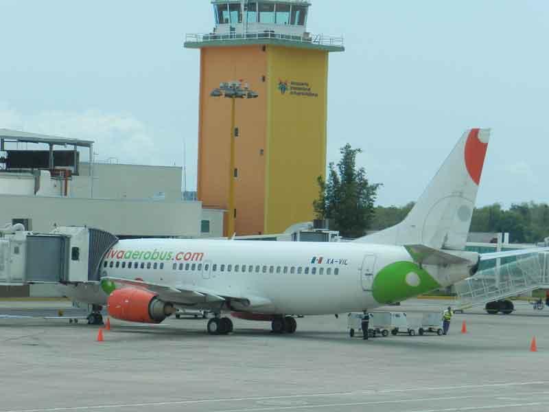 Recibe Vallarta más  turistas vía aérea