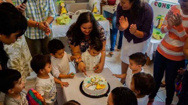 Brindan CADI'S asistencia y cuidados a cuatrocientos niños