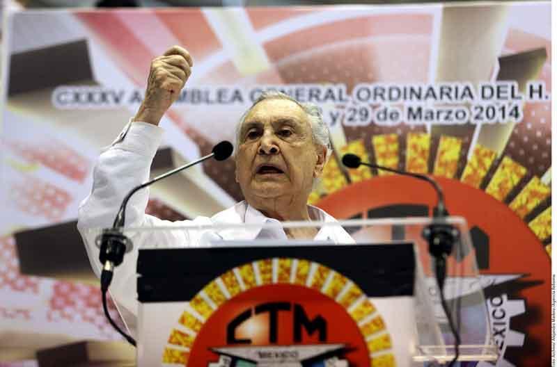 Ante la muerte de Gamboa Patrón, podría  Yerena asumir dirigencia nacional de CTM
