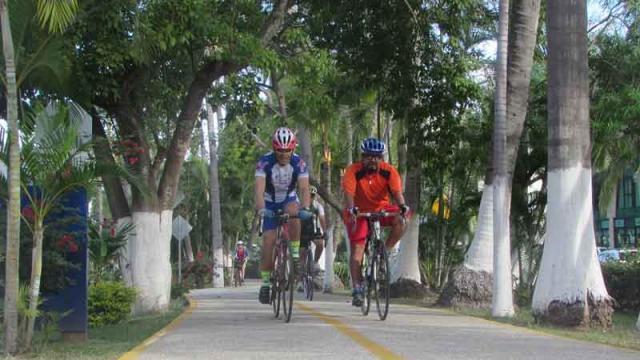 Ciclovía de Nuevo Vallarta: un  gusto que darse en Riviera Nayarit
