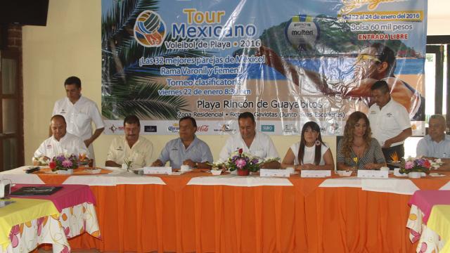 Se alista Tour de Volibol de Playa en Guayabitos