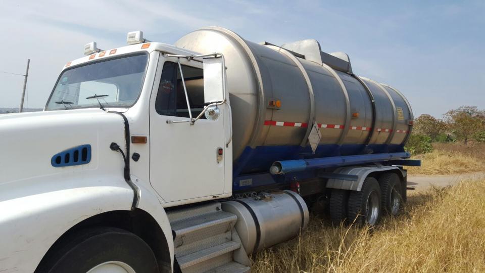 Consignan a uno por transportar  20 mil litros de hidrocarburo