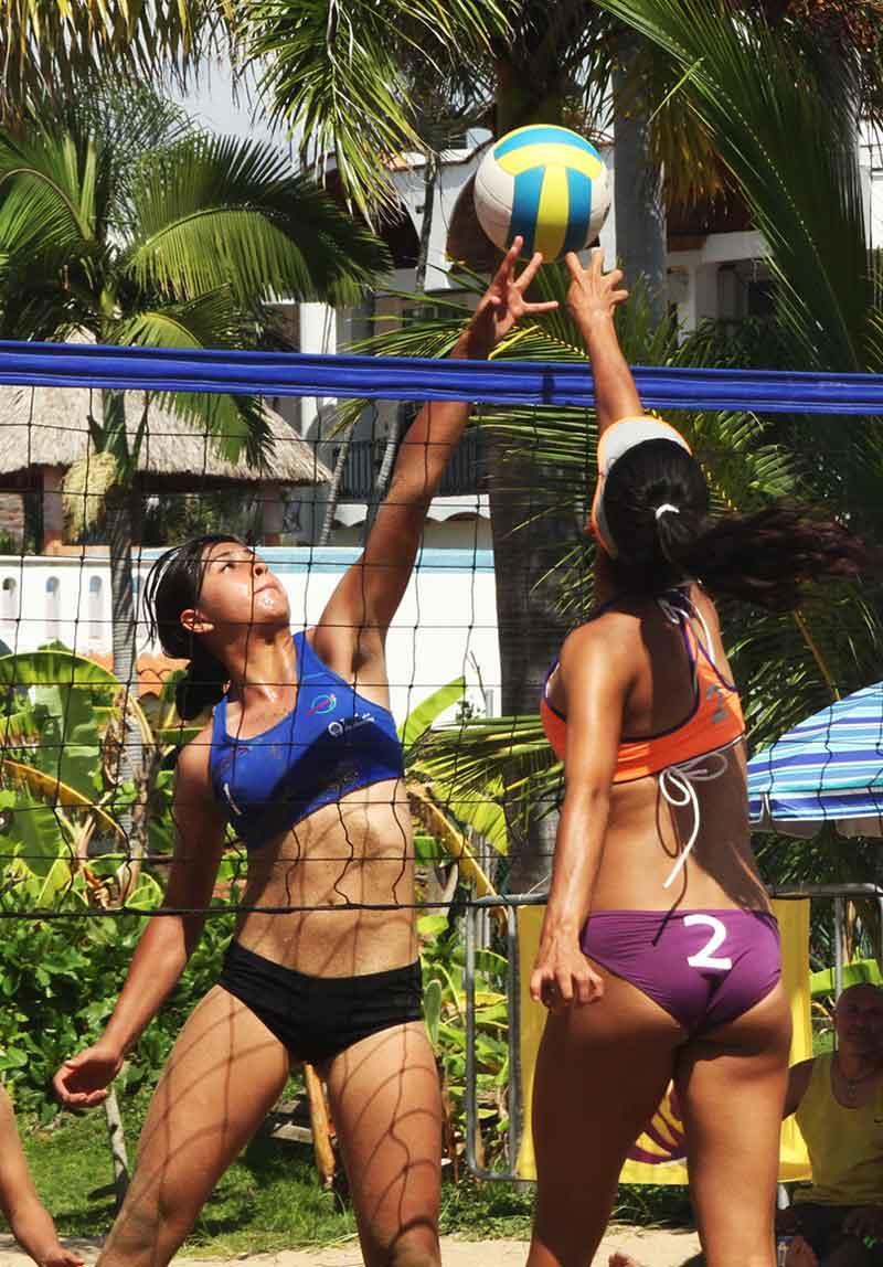 Terminan las vacaciones y hoy  reanudan el torneo de voleibol