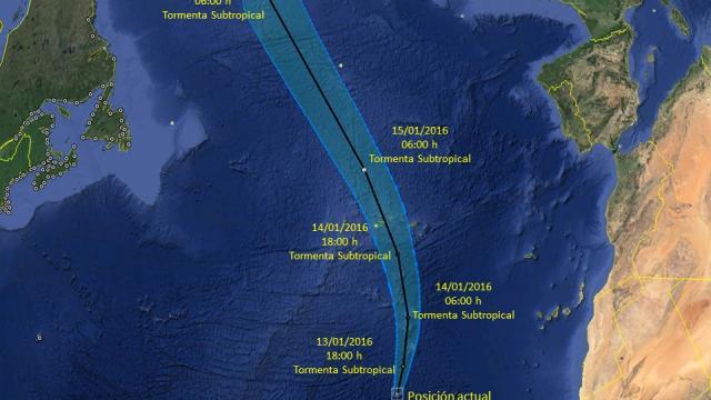 Reportan la formación de Alex, el primer ciclón en 2016