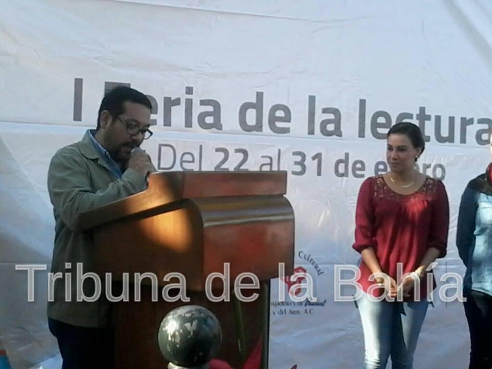 Inauguran Feria del Libro en Puerto Vallarta