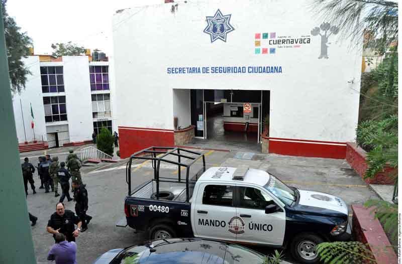 Asume Mando Único  Policías en Morelos