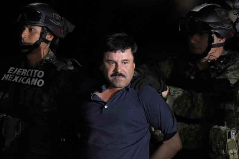 Indigna el alarde de  El Chapo: Washington