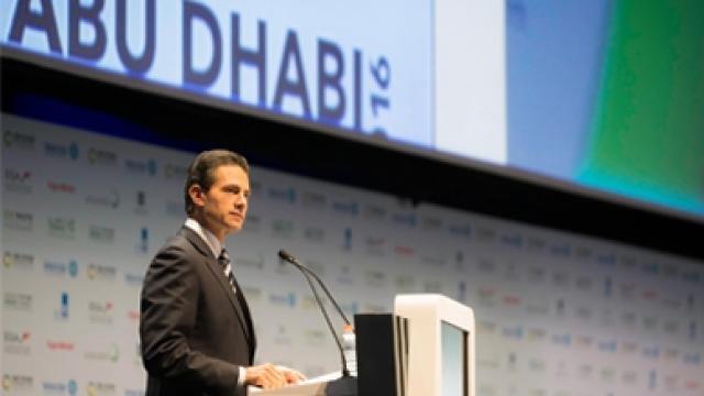 México asume responsabilidad global frente a cambio climático, subraya Peña Nieto