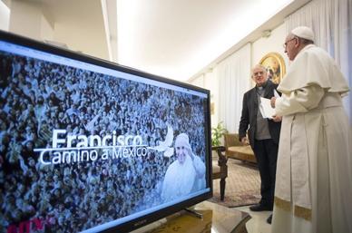 """""""Voy a México a vivir la riqueza de su fe"""": Papa Francisco"""