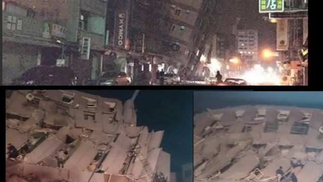 Sismo de 6,4 grados sacudió Taiwán; se reportan derrumbes