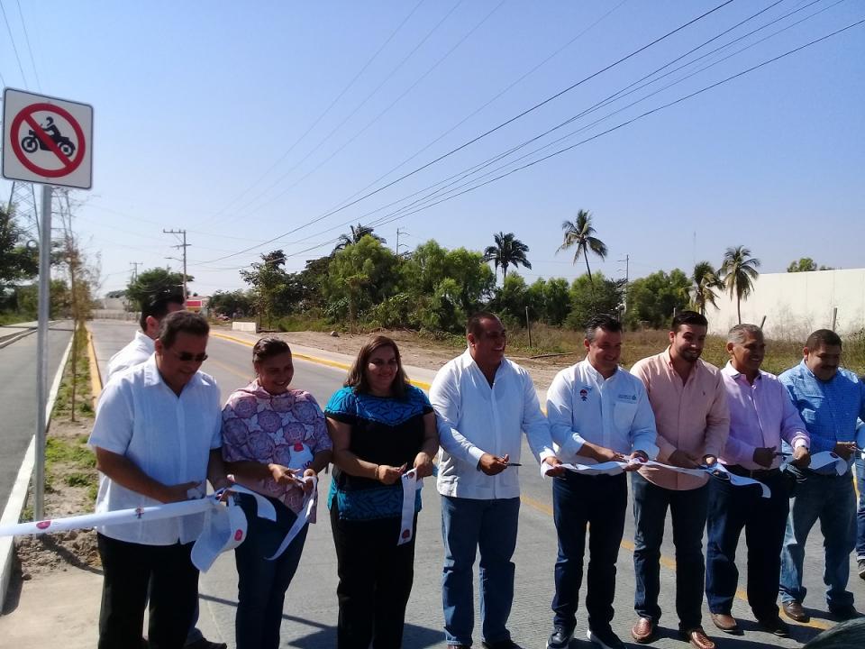 Finaliza pavimentación en Av. México;  arranca puente en Avenida Los Poetas