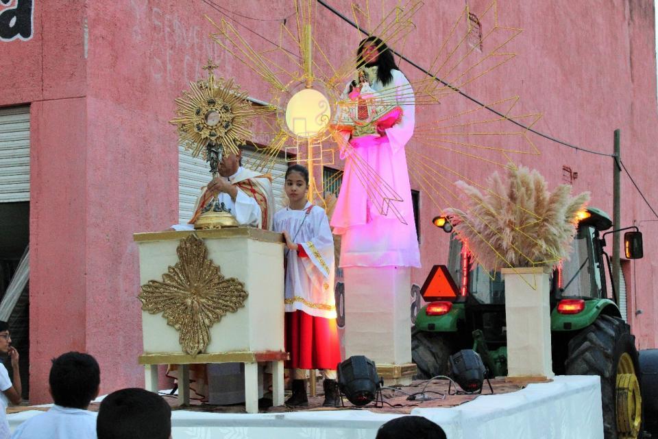 ¡Rompimiento de fiestas patronales  de Valle de Banderas!