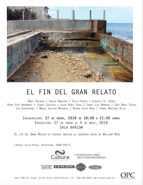 """Invitan a la exposición  """"El Fin del Gran Relato"""""""