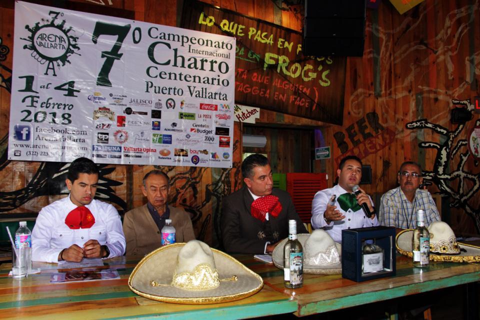 Presentan el Campeonato Charro