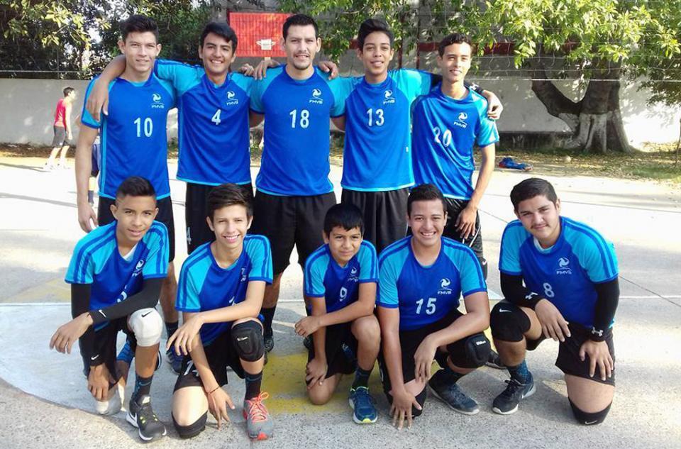 Inició torneo dominical  varonil de voleibol