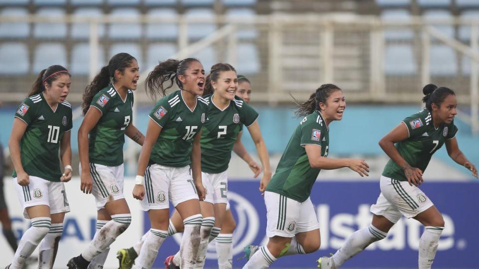 """""""Tri"""" femenil sub 20 hace historia al  ganar Pre Mundial de la Concacaf"""