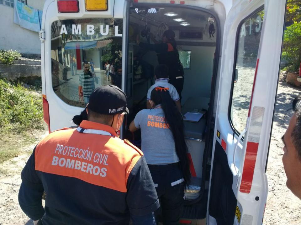 Niño es atropellado por una  moto; el motociclista huyó