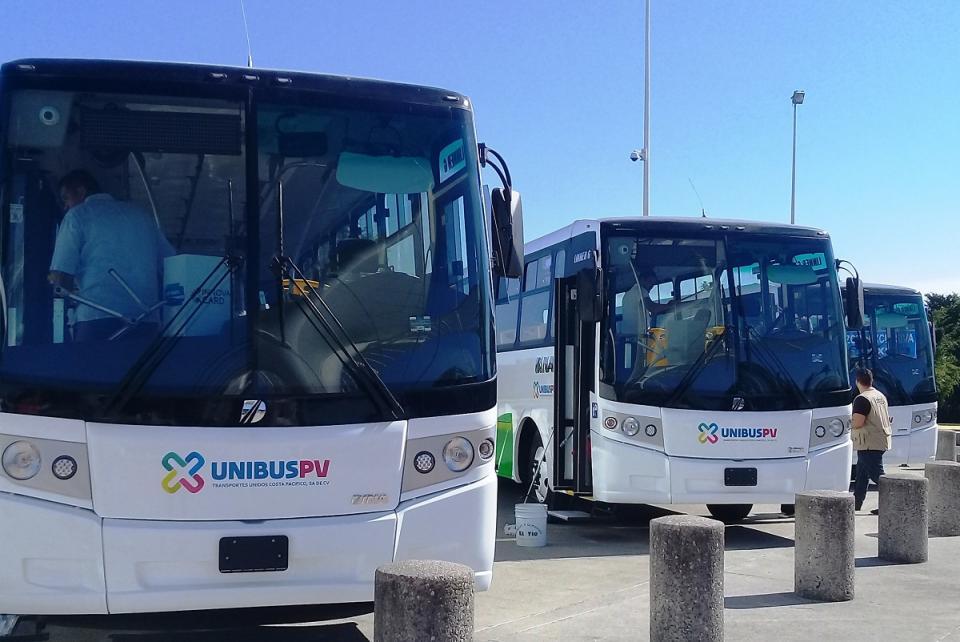 Arrancará en febrero el nuevo modelo  de transporte público en Puerto Vallarta