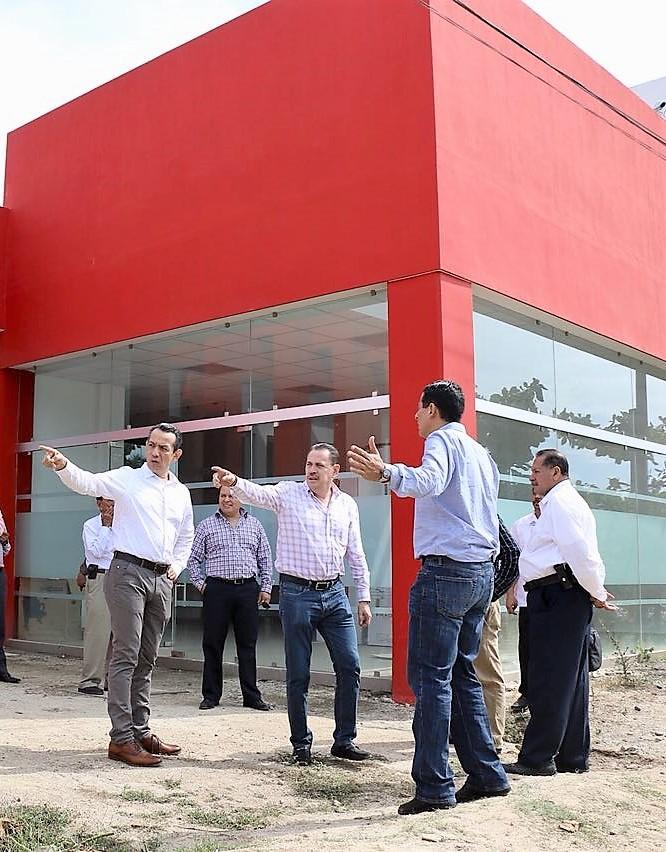 Apoyará Jaime Cuevas con obras y  servicios los nuevos juzgados en BB