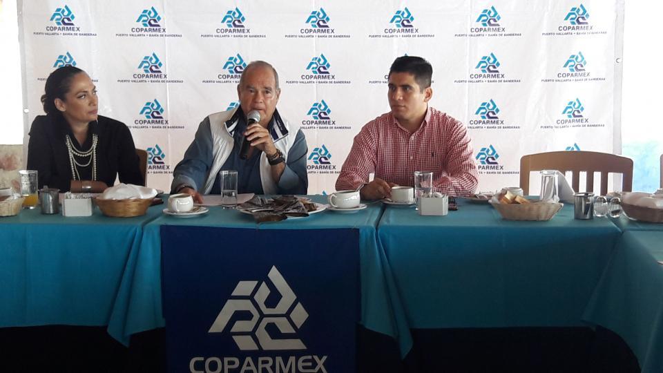 Sin reportes de delitos a  empresarios: Coparmex
