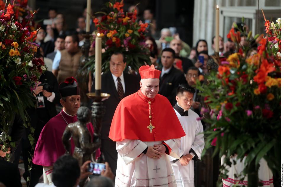 Asume Carlos Aguiar como  Arzobispo Primado de México