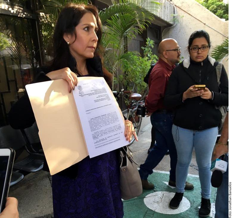 Presenta queja contra  diputado de MC en Jalisco