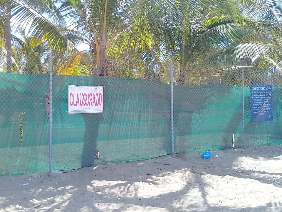 "Siguen ""luchando"" pobladores  contra proyecto Punta Paraíso"
