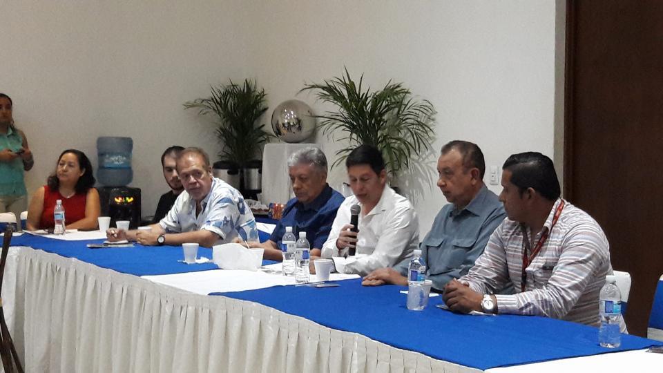 Ofrece Miguel Castro mensaje  a simpatizantes priistas de PV