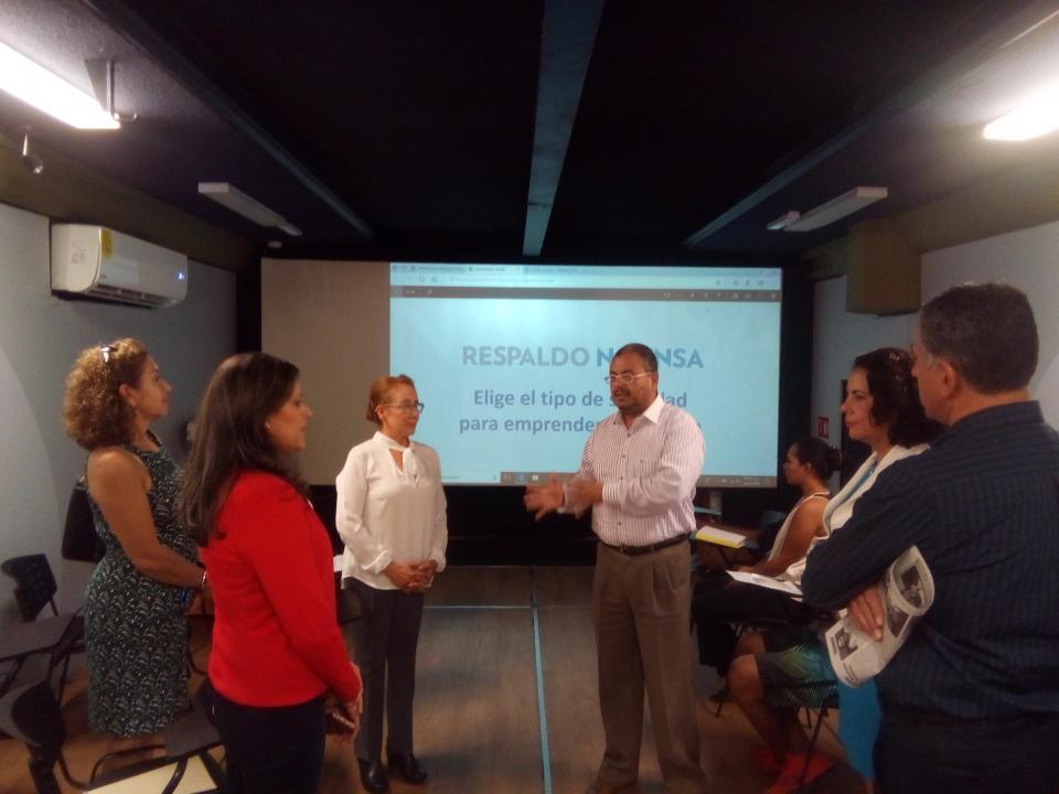 Busca Nafin generar nueva  cultura empresarial en Bahía