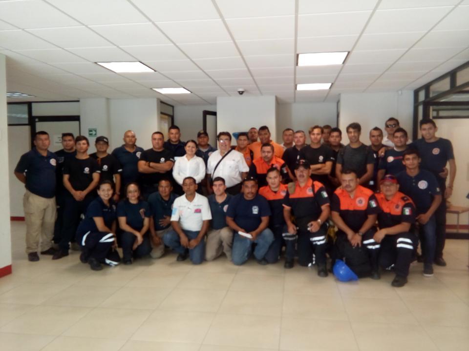 Inicia certificación y capacitación  de combate en incendios forestales