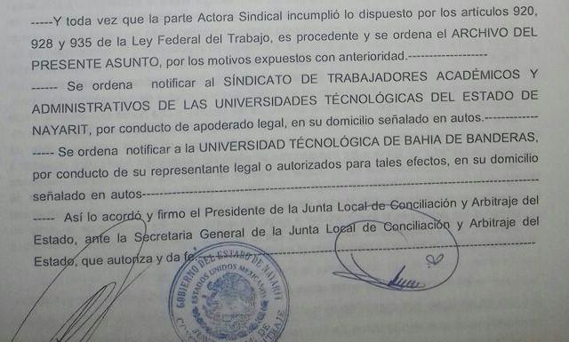 La huelga de la UTBB,  es ilegal, dice rector