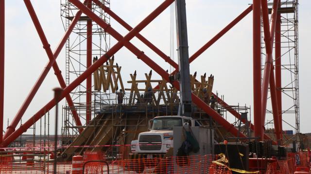 Avanza construcción del edificio  terminal del Nuevo Aeropuerto