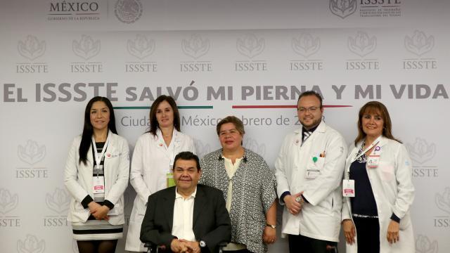 Salvan médicos del ISSSTE  pierna y vida a paciente