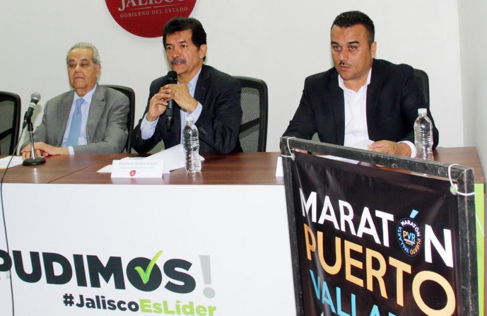 Anuncian en Guadalajara el  Maratón de Puerto Vallarta