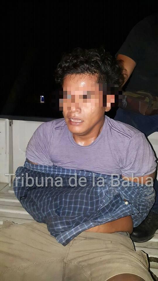 Policía retiene a presunto asaltante