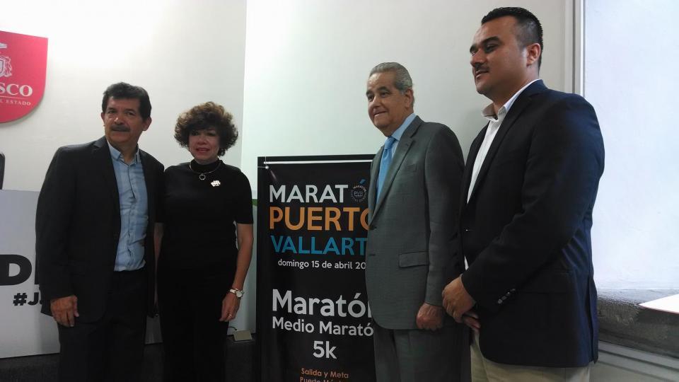 Promocionan Primer Maratón de Puerto Vallarta en Guadalajara