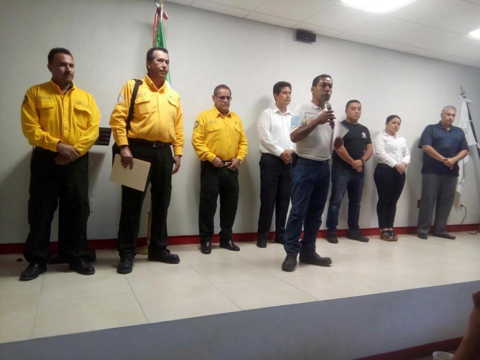 Inicia certificación capacitación de combatientes en incendios forestales