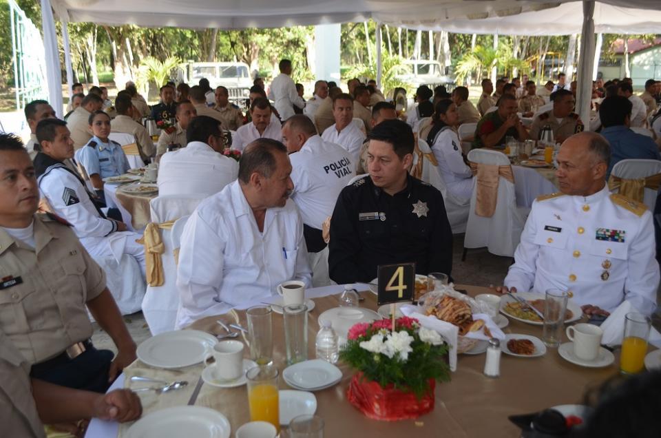 Celebran 105 años  del Ejército Mexicano