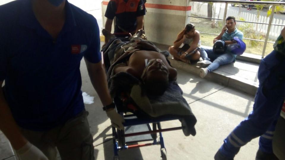 Casi muerto hallan a un  hombre en Tamarindos