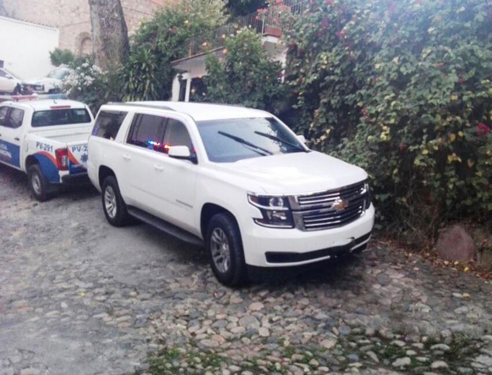 Capturan a dos sospechosos  de robo de vehículo