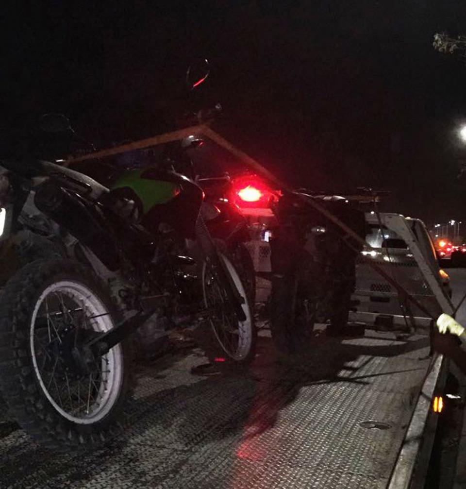 Operativo especial deja seis  motocicletas aseguradas