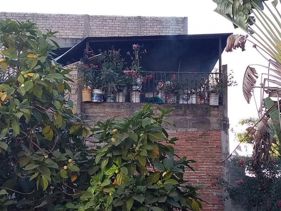 Se incendia domicilio