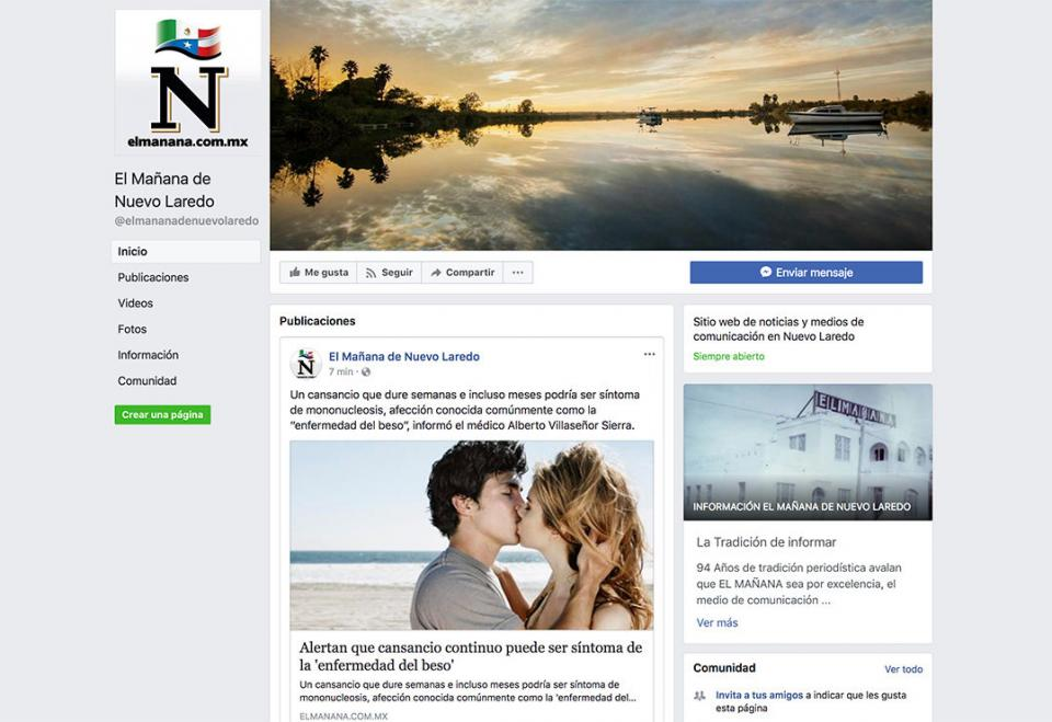 """Denuncian hackeo del portal y la página en Facebook de """"El Mañana"""""""