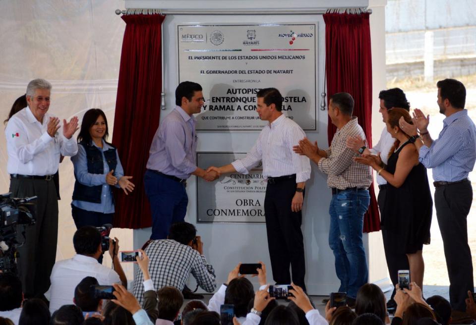 Inauguran autopista Jala Compostela
