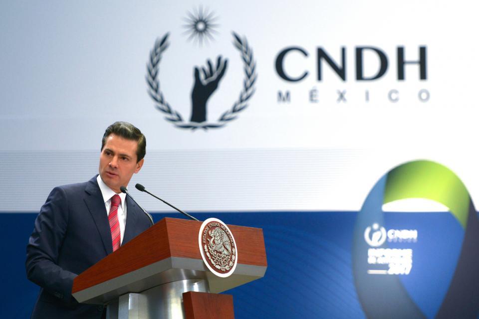 Absoluta disposición del gobierno para  cumplir recomendaciones: Peña Nieto