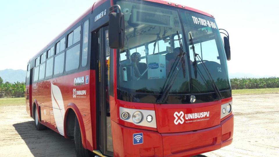 Capacitan a choferes para el nuevo  sistema de transporte en PV