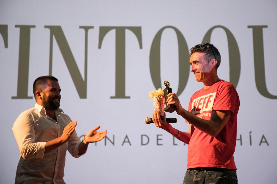 "FICPV entrega ""La Iguana de Oro""  al guionista Mark O'Halloran"