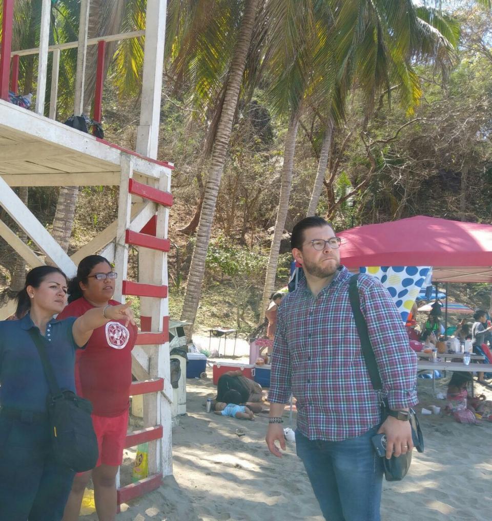 Importante presencia de  Guardavidas en las playas