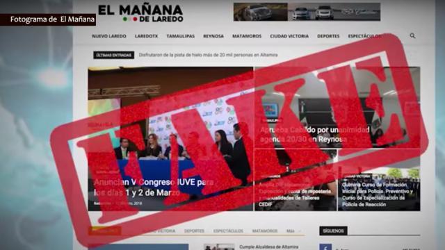 El Mañana es clonado para difundir información a favor del gobierno de Nuevo Laredo